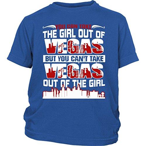 Vegas Baby Bodysuit, You Can't Take Vegas T Shirt (XS, Youth Tee - Blue)]()