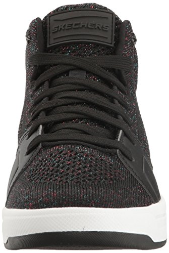 Skechers Street Kvinners Sentrum-fly High Fashion Sneaker Svart / Multi