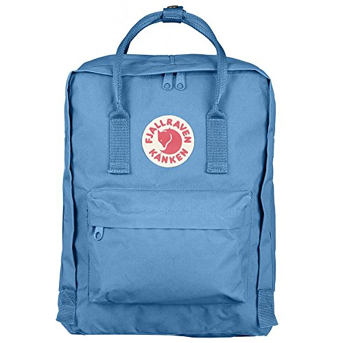 Fjallraven - Kanken Classic Pack, Heritage and Responsibility Since 1960, One Size,Air Blue
