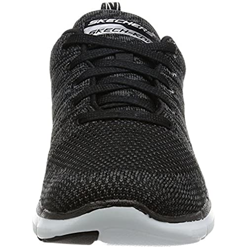 a79a0f3014ca Skechers Flex Appeal 2.0 High Energy Womens Sneakers Black White 6.5  low-cost