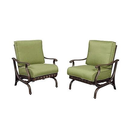 Amazon.com: Hampton Bay pembrey Patio silla de salón con ...