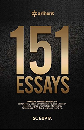 buy essays book online at low prices in essays  buy 151 essays book online at low prices in 151 essays reviews ratings in