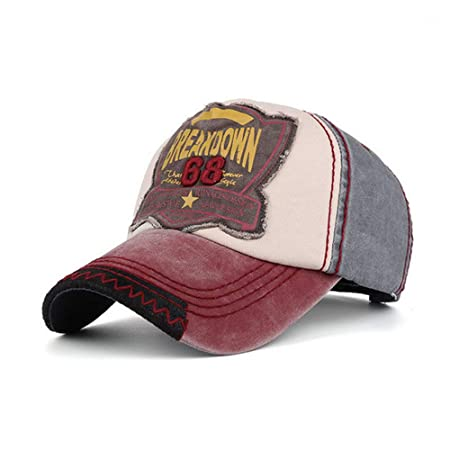 Unisex Vintage Gorra de béisbol Hombres Mujeres Gorra desgastada ...