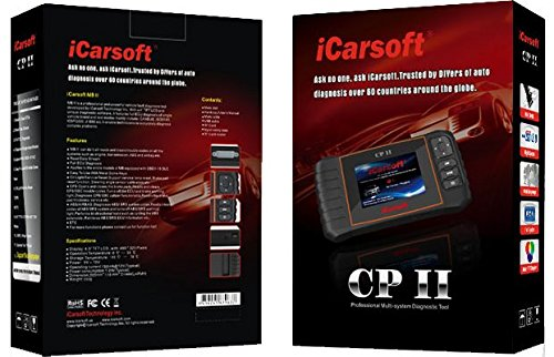 iCarsoft CP II for Peugeot / Citroen NEW VERSION professional diagnostic tool scanner - PLUS FREE ANTI-SLIP PAD ($10 Value) by iCarsoft (Image #3)