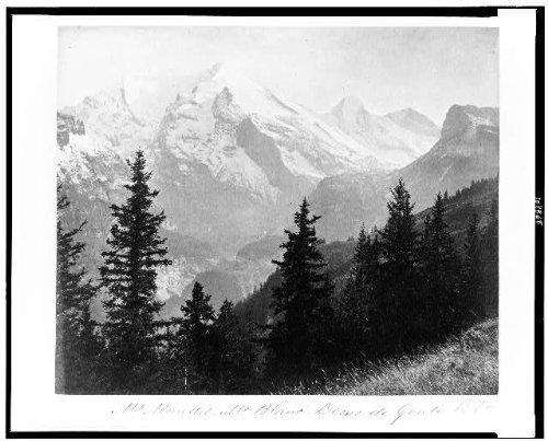 photo-mt-maudit-mt-blanc-dome-de-gouteswitzerland1860s