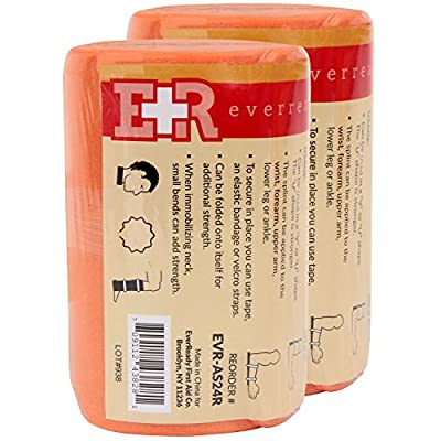 Ever Ready First Aid Universal Aluminum Splint, 24 Inch Rolled