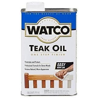 RUST-OLEUM Watco A67141 Teak Oil Finish, Quart