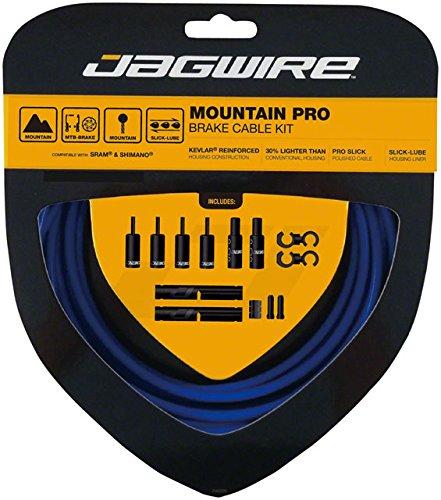 Jagwire Pro Brake Cable Kit Mountain SRAM/Shimano, SID Blue by Jagwire