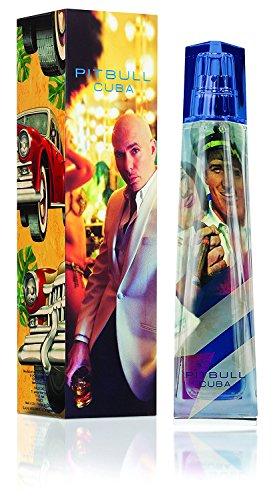 Pitbull Cuba For Men 3.4 oz EDT Spray By Pitbull (Cologne Pitbull Men)