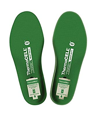 ThermaCELL Proflex Heavy Duty Heated Shoe Insoles with Bluetooth Compatibility