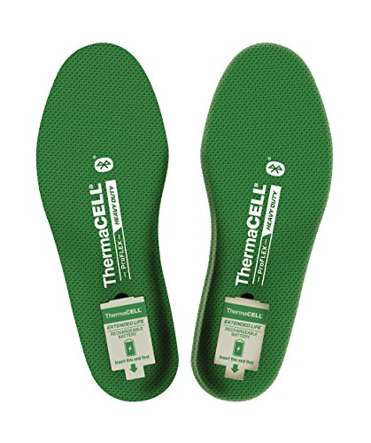 ThermaCELL Proflex Heavy Duty Heated Shoe Insoles with Bluetooth Compatibility, XL