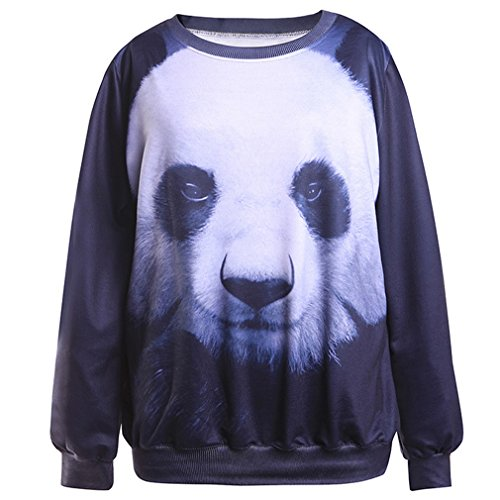 Thenice - Sudadera - para mujer panda