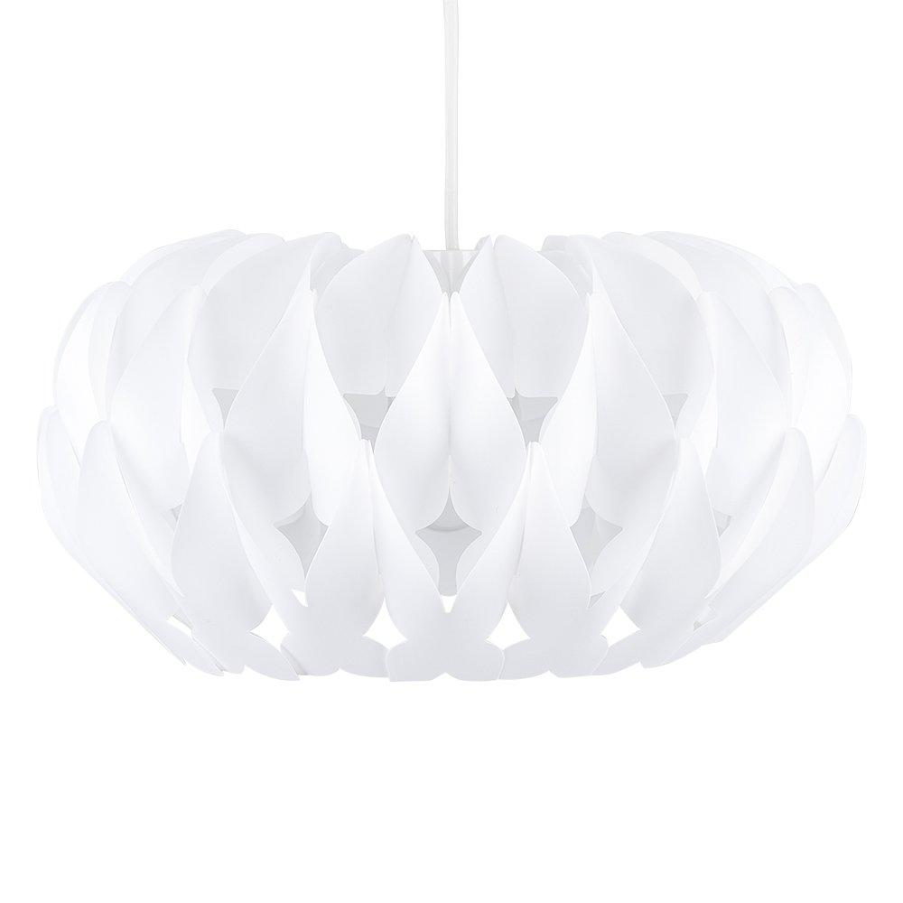 MiniSun Abat Jour Moderne pour Suspension. Abat Jour Designer ARENA Fini En Blanc. Suspension pour plafond