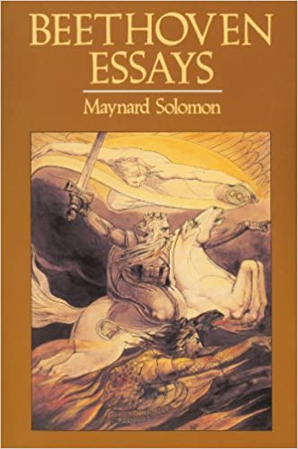 amazon com  beethoven essays        maynard solomon  books