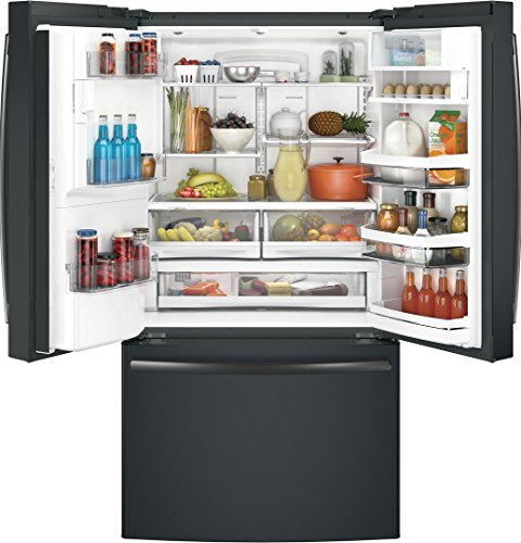 GE Profile Slate 36 Smart Counter French Door Refrigerator with 22.2 cu. ft.