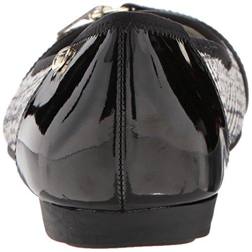 black Piso Zapato multi Mujeres Anne Fabric Ivory De Klein Talla wH0wnOIq