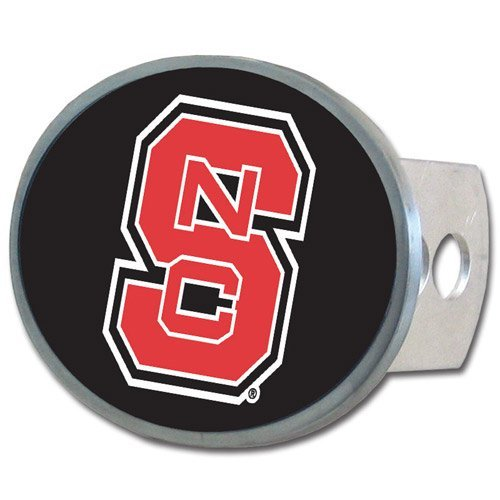NCAA North Carolina State Wolfpack Oval Hitch Cover ()