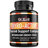 Dr Emil - Thyroid Support Supplement with Iodine - Metabolism, Energy, Focus & Mental Clarity - Doctor Formulated Complex for Hypothyroidism (Under-Active Thyroid)