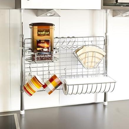 bremermann® mensola telescopica per la cucina con porta rotolo ...