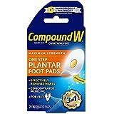 Compound W Maximum Stregth One Step Plantar Foot Pads 20 ea