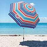 Best Beach Umbrella For Winds - Tommy Bahama 7' Beach Umbrella Review
