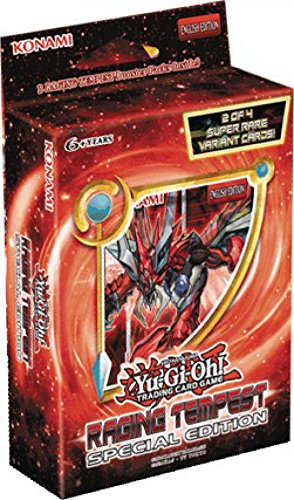 Yugioh Raging Tempest SE Special Edition Display Booster Box - includes 30 packs!