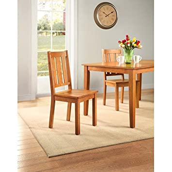 Better Homes and Gardens Bankston Dining Chair  Set of 2  Honey. Amazon com   Better Homes and Gardens Bankston Dining Chair  Set