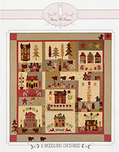 Woodland Christmas Applique Quilt Pattern by Bunny Hill Designs 67