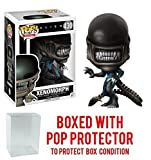 Funko Pop! Movies: Alien: Covenant - Xenomorph (Skull) Vinyl Figure (Bundled with Pop BOX PROTECTOR CASE)
