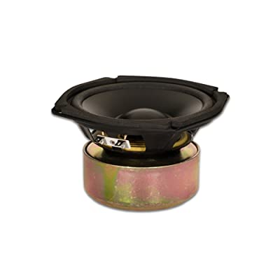 "Goldwood Sound GW-205/4S Shielded 5.25"" Woofer 130 Watt 4ohm Replacement Speaker: Electronics"