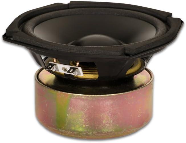 """Goldwood Sound GW-205/4S Shielded 5.25"""" Woofer 130 Watt 4ohm Replacement Speaker"""