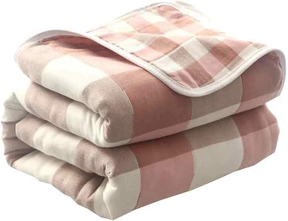 Mantener Caliente Mantas, algodón Grueso Mantas, edredones Toalla japoneses, Siesta Aire Acondicionado Mantas de algodón, edredones, Mantas Toalla. De Espesor (Color : A, Size : 150cm*200cm): Amazon.es: Hogar