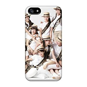 Iphone 5/5s Hard Back With Bumper Silicone Gel Tpu Case Cover Snsd