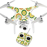 Skin For DJI Phantom 3 Standard – Hippie Flowers | MightySkins Protective, Durable, and Unique Vinyl Decal wrap cover | Easy To Apply, Remove, and Change Styles | Made in the USA