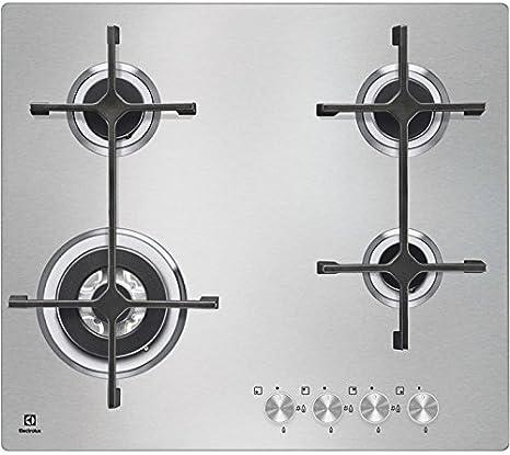 Electrolux EGS6648NOX hobs - Placa (Integrado, Gas, Acero ...