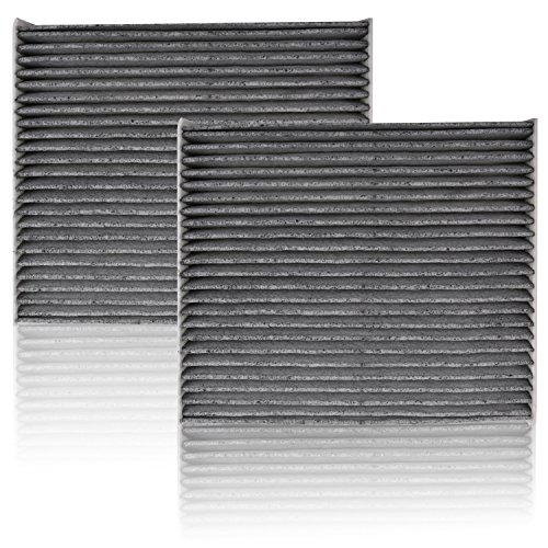 Weize 2 Pack CF10285 Activated Carbon Cabin Air Filter for TOYOTA LEXUS SCION SUBARU