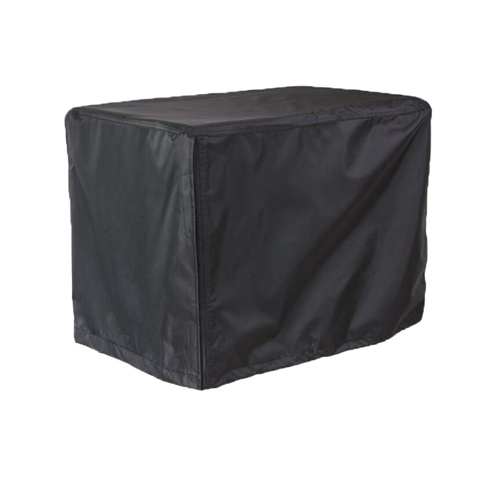 Comily Plus+ 600D Heavy Duty Universal Generator Cover Waterproof Fits Size Up to 26''x20''x20''-Black Color