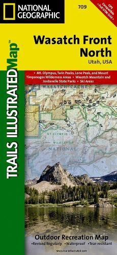 Wasatch Front North  National Geographic Trails Illustrated Map