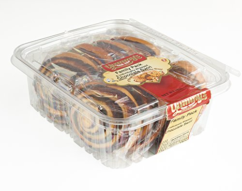Cinnamon Pecan Cookies (Yummy's Cookies Fresh Baked Pastry Snacks - Individually Wrapped Dessert Packs 16 oz.)
