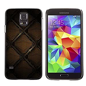 KOKO CASE / Samsung Galaxy S5 SM-G900 / diseño moderno dibujo del arte interrior wallpaper / Delgado Negro Plástico caso cubierta Shell Armor Funda Case Cover