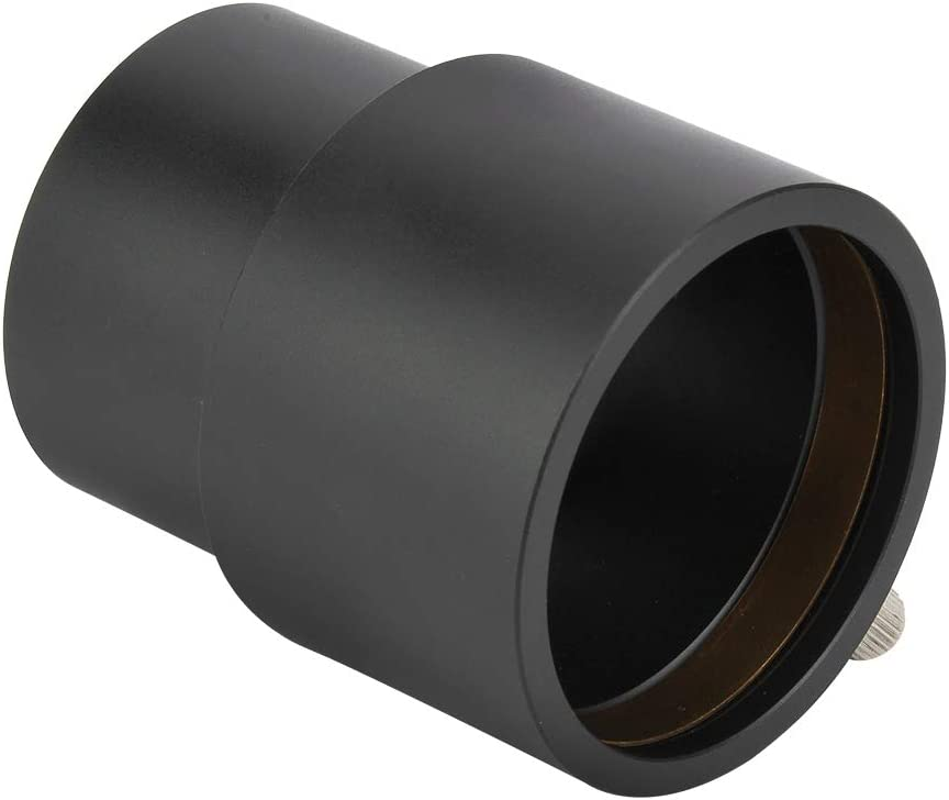 Serounder Eyepiece Extension Tube 40mm 2 Inch Telescope Eyepiece Mount Adapter for Astronomical Telescopes