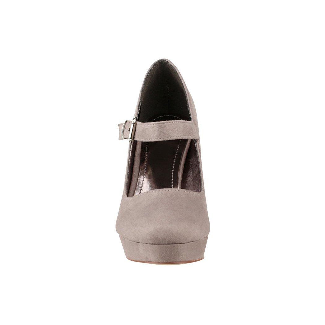 d4766f0c887 Elara – Zapatos de Tacón Alto con Correa en el Empeine