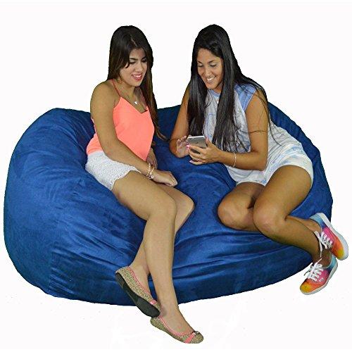 (Cozy Sack 640-CBB-ROYAL Maui Beanbag Chair, 6' Royal Blue)