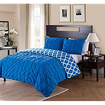 Amazon Com Vcny Home Twin Xl Size Removable Duvet Cover
