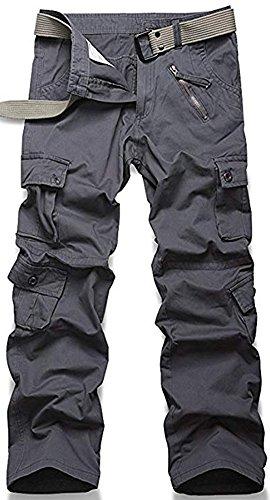 Pockets Casual Taille Grande Militaire Homme Loisir Multi Coton Cargo Longues Pantalons Gris Sport Travail Camouflage De Pants Mochoose Et fTxzYqT