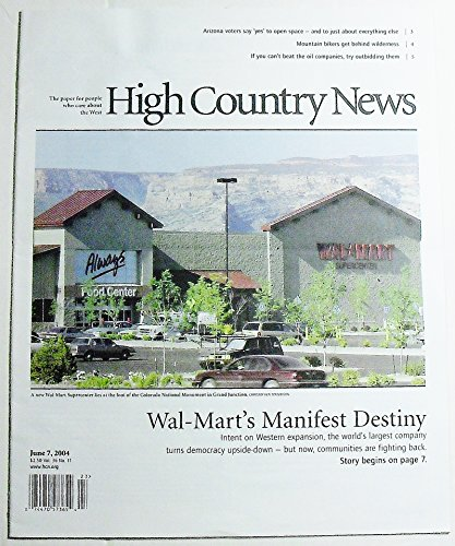 High Country News, Volume 36 Number 11, June 7, 2004