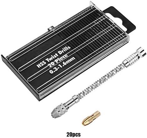0.8-3.0mm Semi-Automatic Micro Mini Portable Tool Set Small Hand Drill