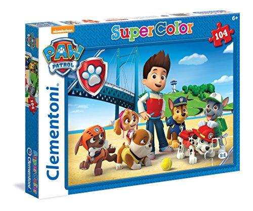 Clementoni-27946-Patrulla-canina-Puzzle-104-piezas