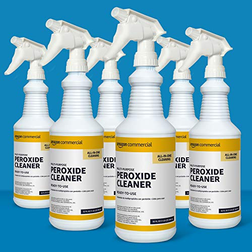 AmazonCommercial - Multi-Purpose Peroxide Cleaner, Ready-to-Use, 32-Ounces, 6-Pack
