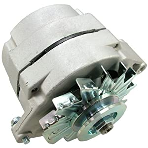 Amazon.com: NEW ONE WIRE 1-WIRE ALTERNATOR GM DELCO 10SI LOW TURN ...